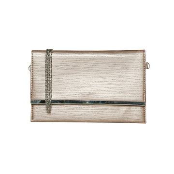 Women Clutch CL-128-Cream