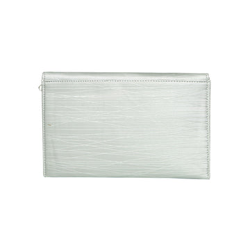 Women Clutch CL-128-Silver