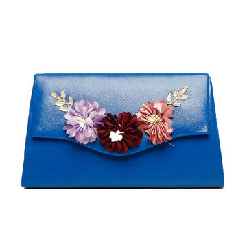 Women Clutch CL-130-Blue