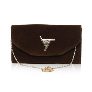 Women Clutch CL-131 Brown