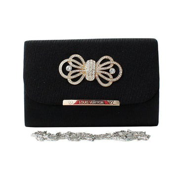 Black Women Hand Clutch CL-140