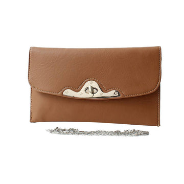 Brown Women Hand Clutch CL-159