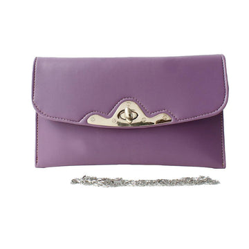 Purple Women Hand Clutch CL-159