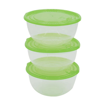 Easy Pack Plastic Storage Box Set 3pcs