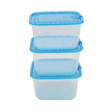Easy Pack Storage Box Set Square 3pcs