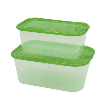 Easy Pack Plastic Storage Box Set 2pcs