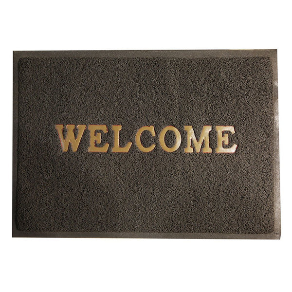 Chase Up Rubber Welcome Door Mat Orange