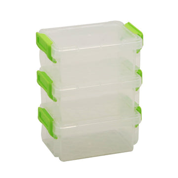 Chase Up Plastic Mini Storage Box Set 3pcs