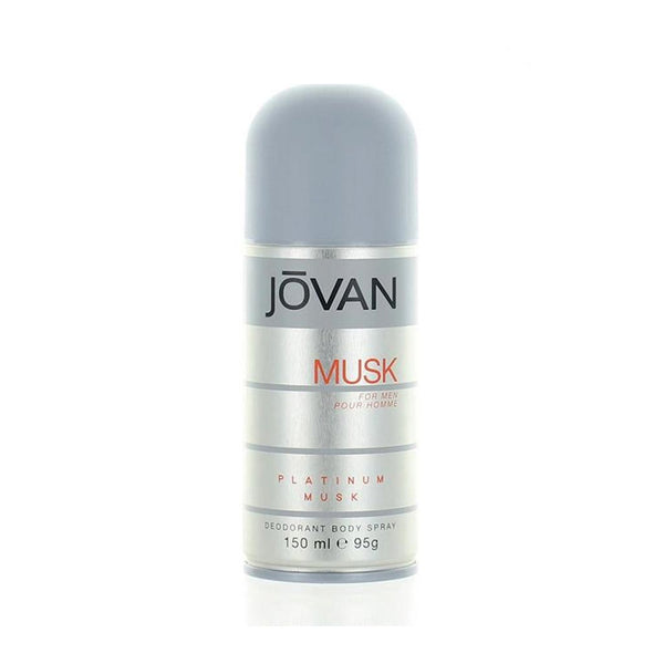 Jovan Platinum Musk Men Body Spray
