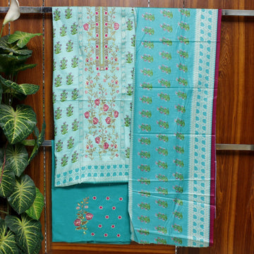 Embroidered Lawn 3pc Unstitched Suit SHL 7B