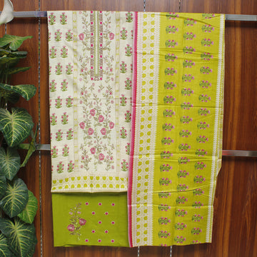 Embroidered Lawn 3pc Unstitched Suit SHL 7C