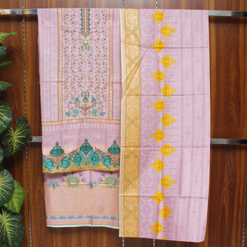 Embroidered Lawn 3pc Unstitched Suit SHL 11B