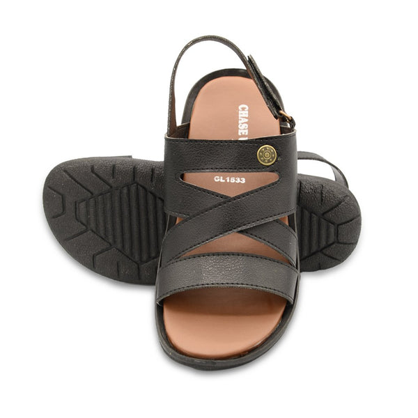 Men Sandals GL-1533 Black