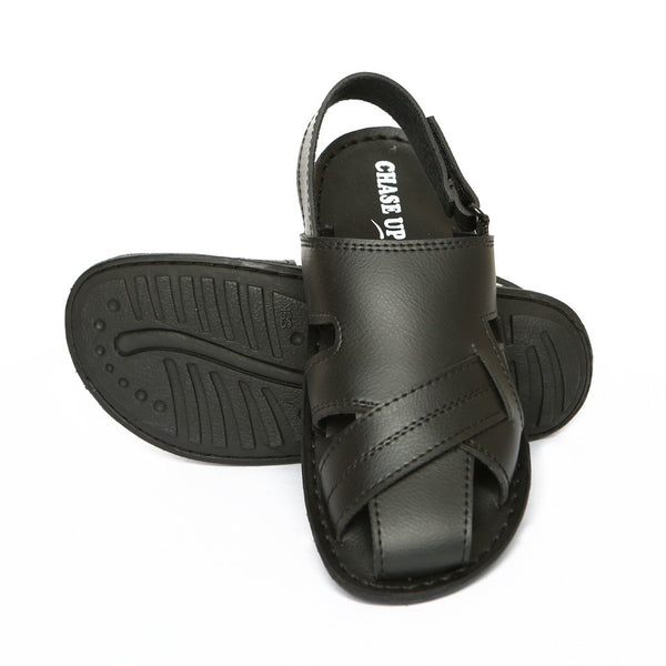 Men Sandals-GL-1766-Black