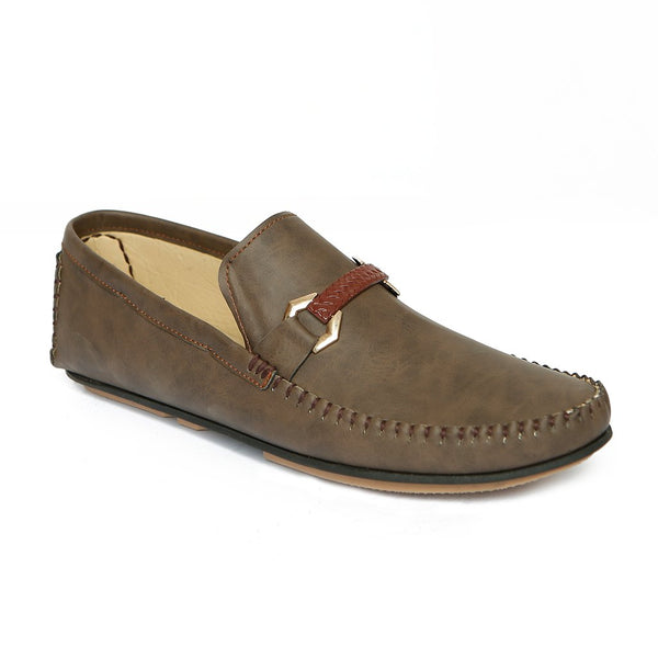 Casual Men's Loafer GL-1776-Coffee