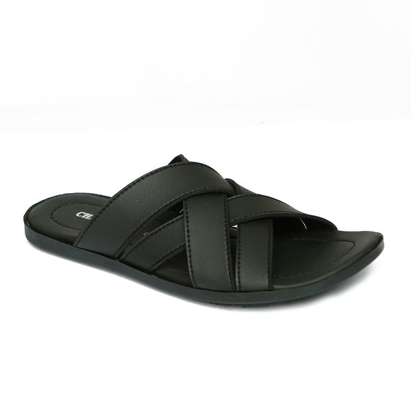 Casual Men's Chappal GL-1799-Black