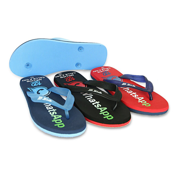 Men Flipflops GL-733 Red