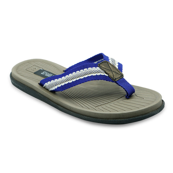 Men Casual Slippers - Blue
