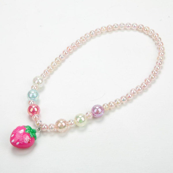 Baby Necklace Set Starwberry - Pink