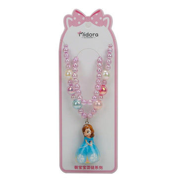 Baby Necklace Set Barbie - Light Purple