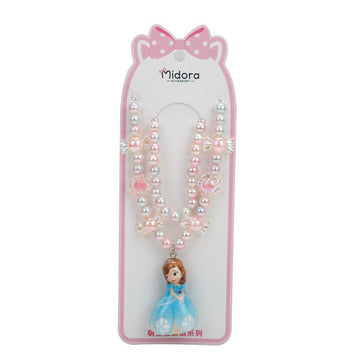 Baby Necklace Set Barbie - Pink