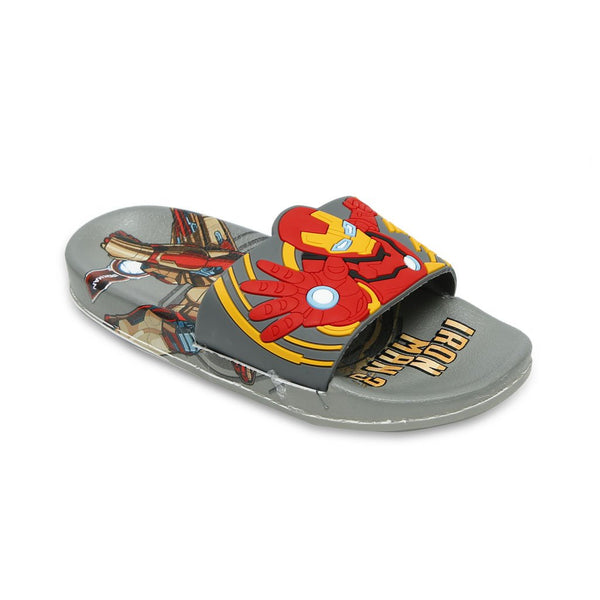 Iron Man Boy Slide KI-1259-1260-Grey