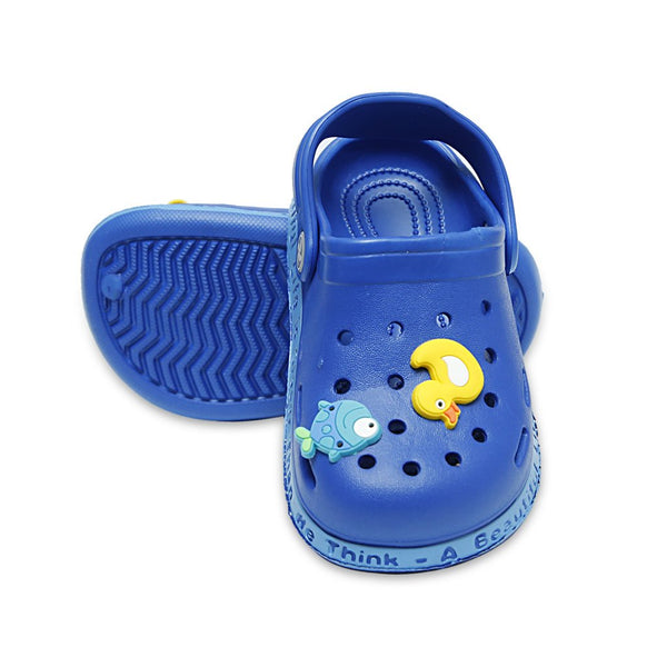 Navy Kids Clogs KI-1261-1262