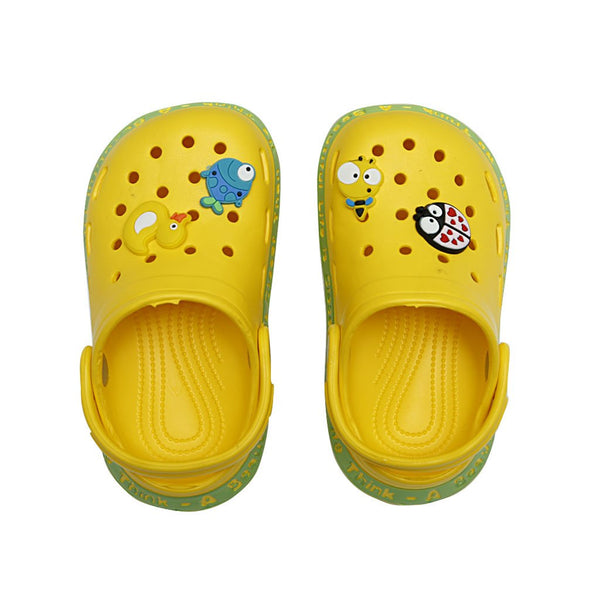 Kids Clogs KI-1261-1262 - Yellow