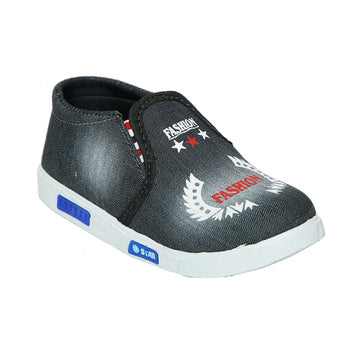 Black Boys Casual Shoes KL-142