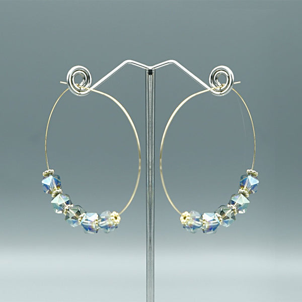 Preciosa Crystal Earrings L-2-2