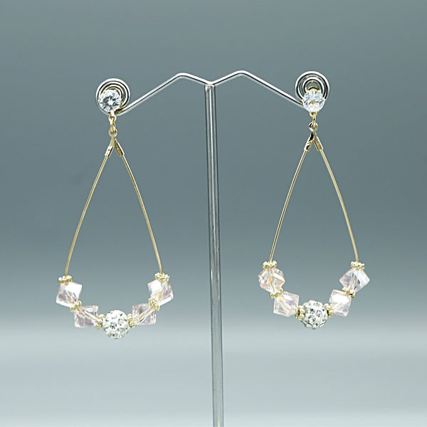 Preciosa Crystal Earrings L-3-4
