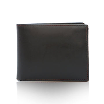 Men Leather Wallet - Brown