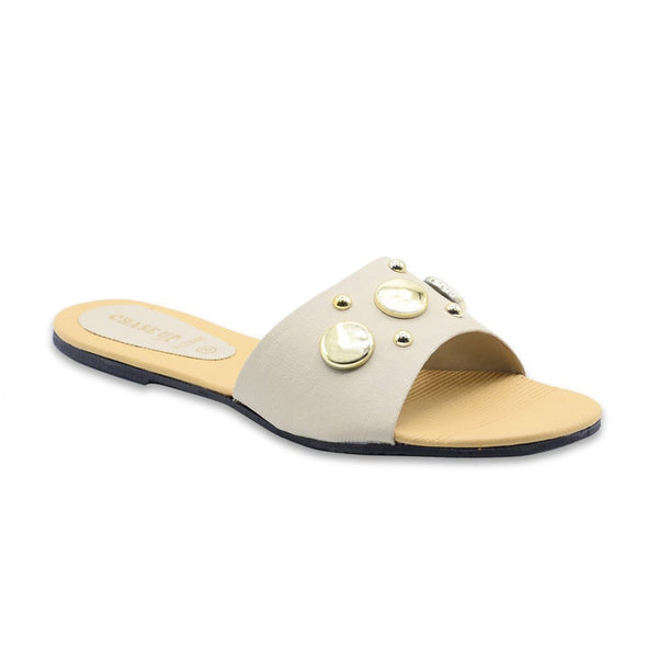 Women Slippers LL-1341 Fawn