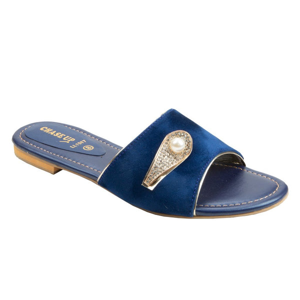 Navy Women Slippers LL-1517
