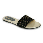 Women Slippers-LL1530- Black