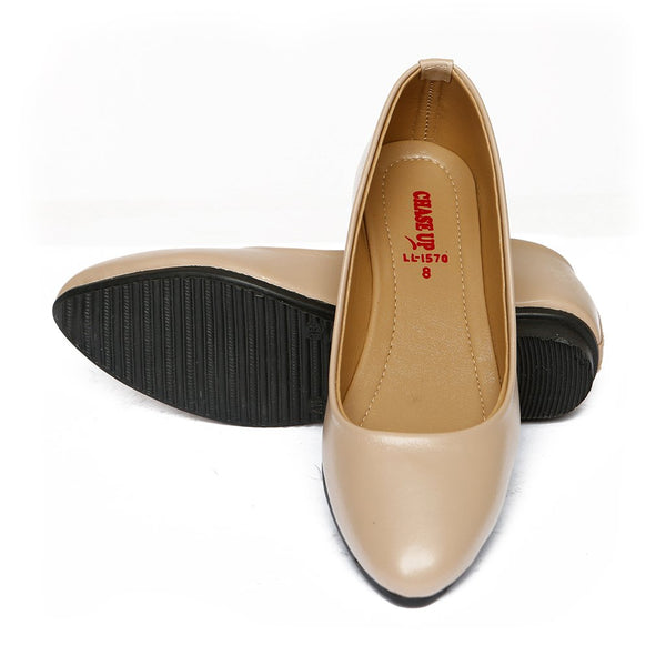 Women Casual Pumps LL-1570-FAWN