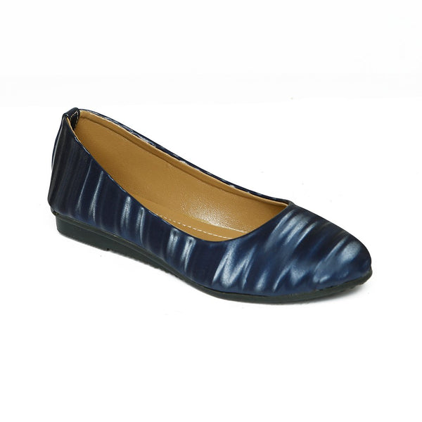 Women Casual Pumps LL-1574-NAVY