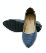 Women Casual Pumps LL1578-Navy Blue