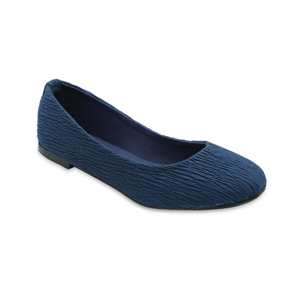 Casual Women Pumps LL-1596-Navy