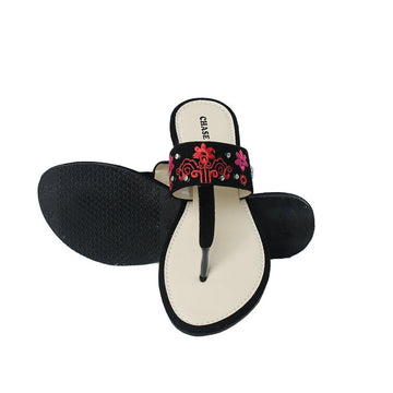 Black Slipper LL-1698
