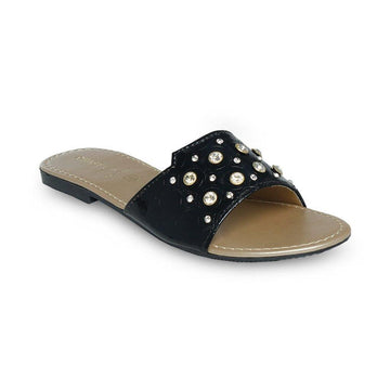 Black Slipper LL-1742