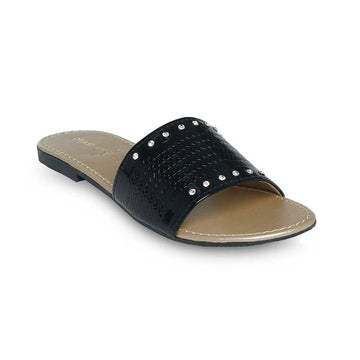 Black Slipper LL-1743