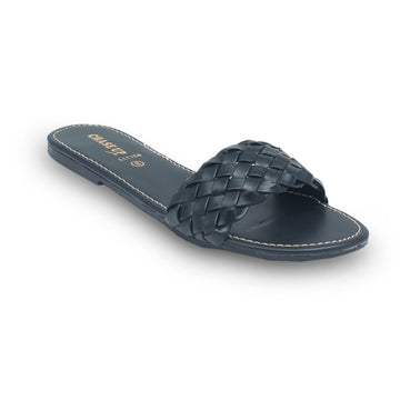Black Slipper LL-1754