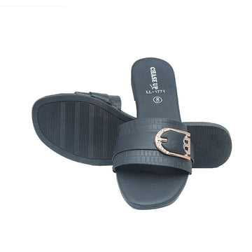 Black Slipper LL-1771