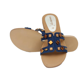 Navy Slipper LL-1774