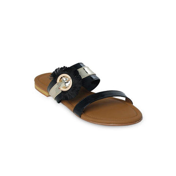 Black Slipper LL-1776
