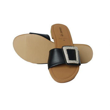 Black Slipper LL-1777