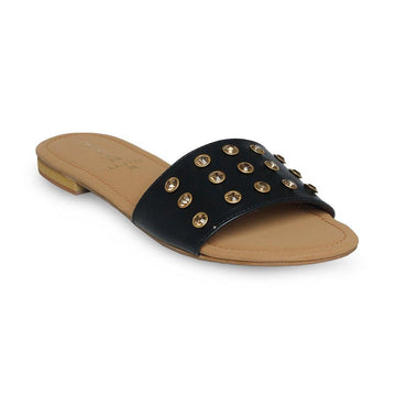 Black Slipper LL-1779