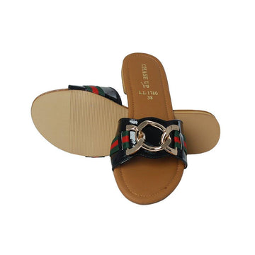 Black Slipper LL-1780