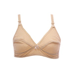Women Cotton Bra - Skin